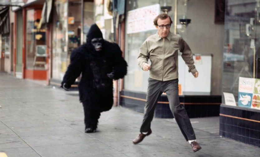 Woody Allen and Gorilla